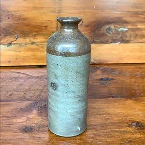 🌿 Vintage Brownware Vase
